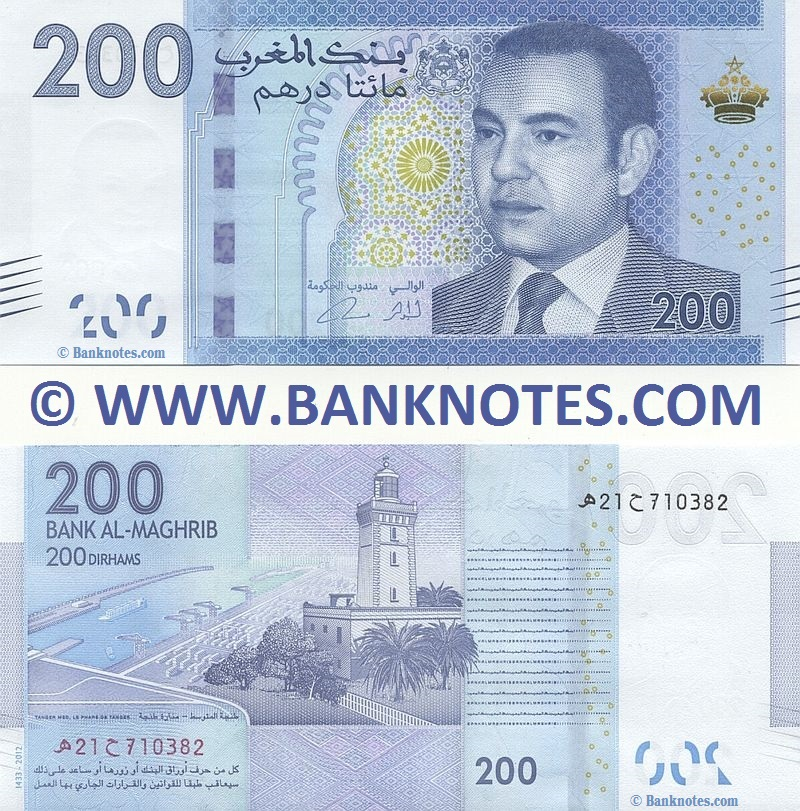 Moroccan Currency Banknote Gallery