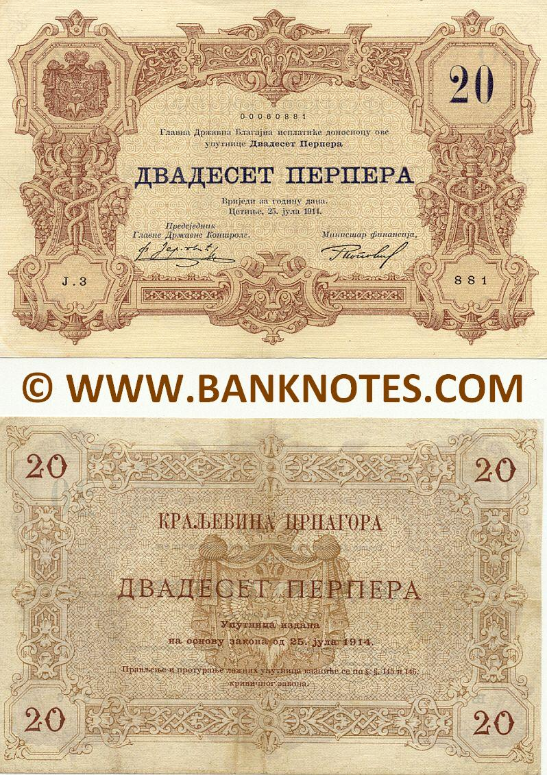 Montenegro Currency Gallery