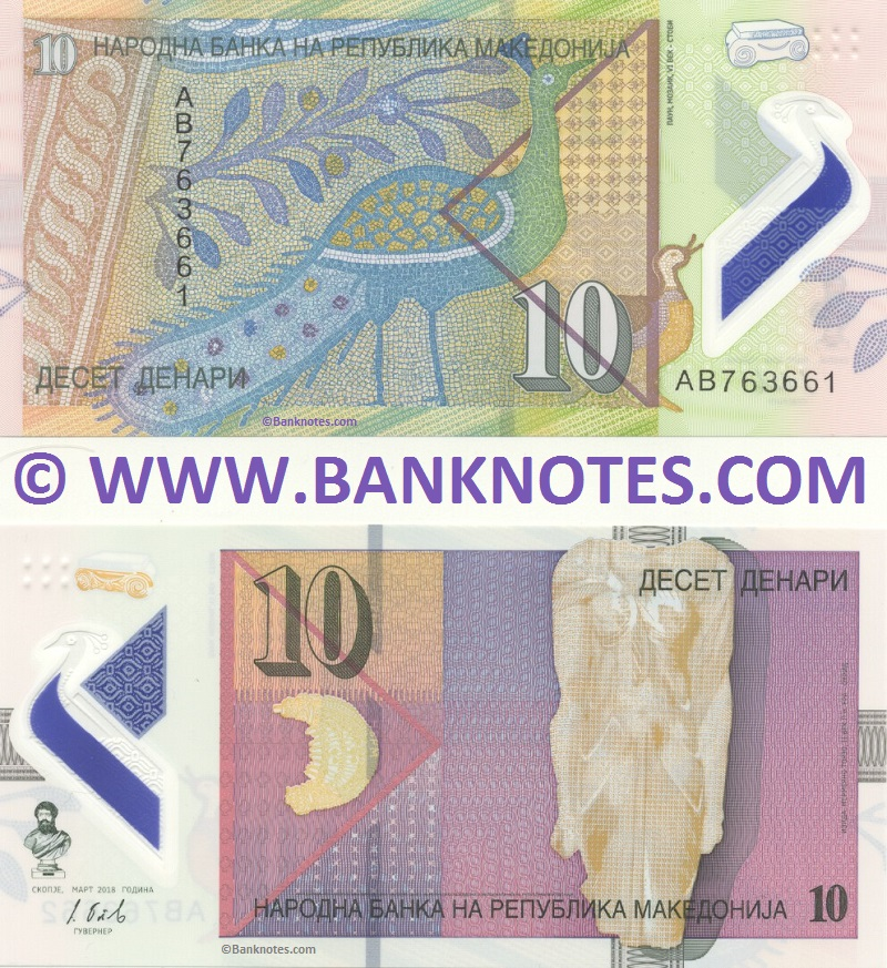 Macedonia Currency Banknote Gallery
