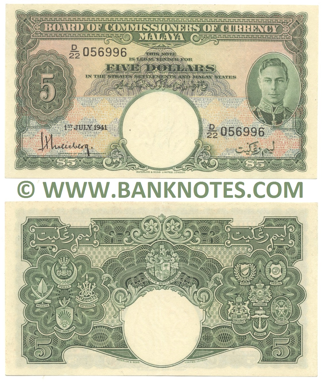 Malay Currency Gallery