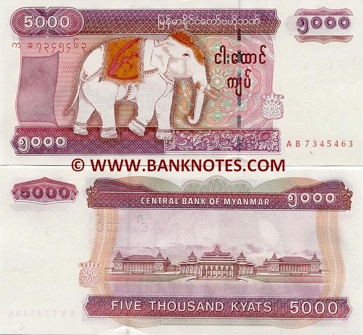 Myanmar Currency Gallery