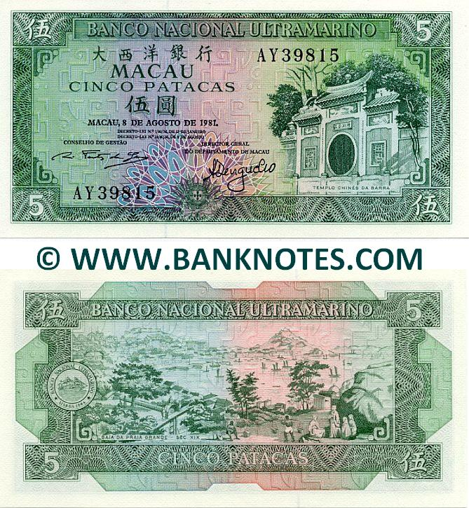 Macanese Currency Banknote Gallery