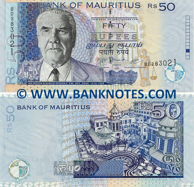 Mauritian Currency Gallery