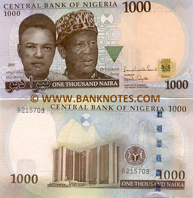 Nigerian Currency Gallery