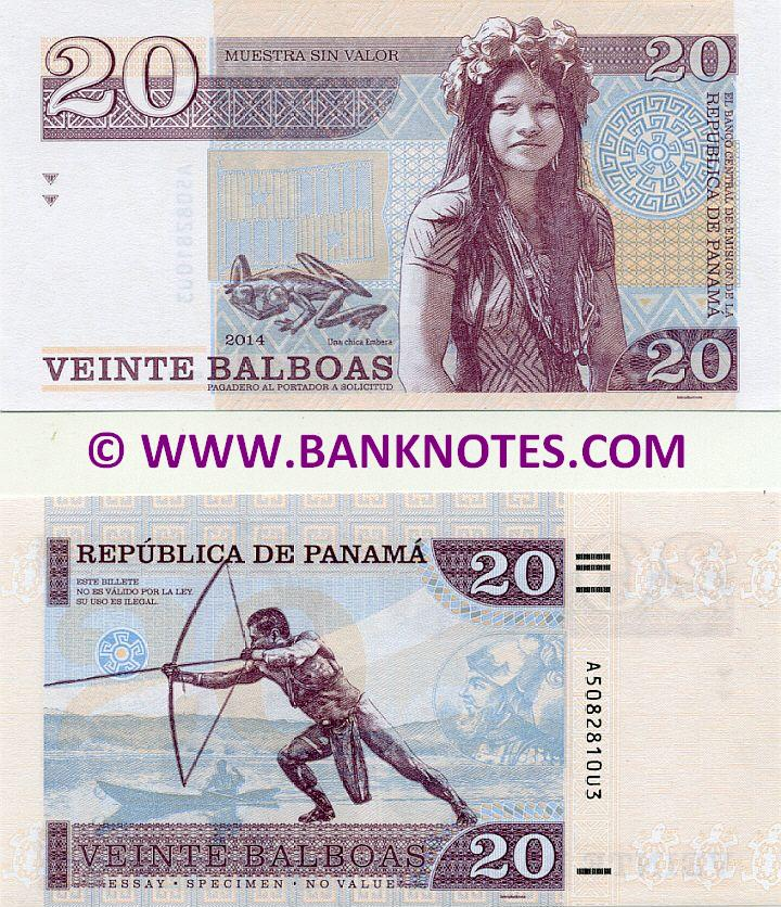 Panamanian Currency Banknote Gallery