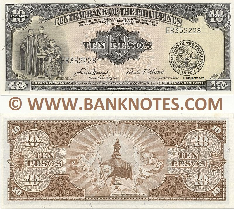 Philippine Currency Banknote Gallery