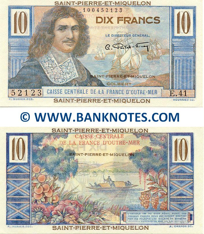Saint Pierre and Miquelon Currency Gallery