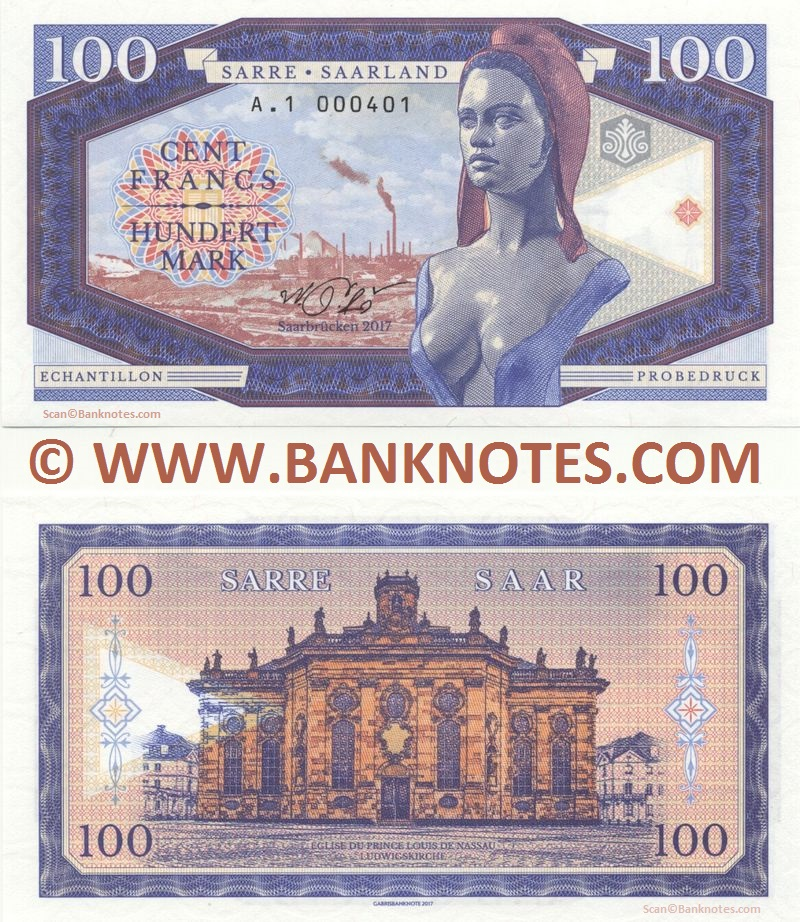 Saar Currency Banknote Gallery