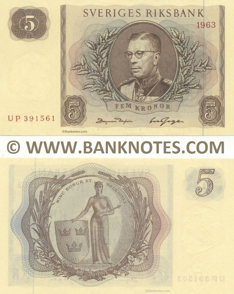 Swedish Currency Gallery