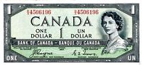 Canada 1 Dollar 1954 (D/A3514451) (circulated) VF-XF