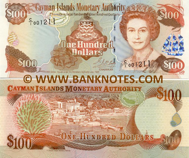 Cayman Islands 100 Dollars 1998 (C/I 001211) UNC