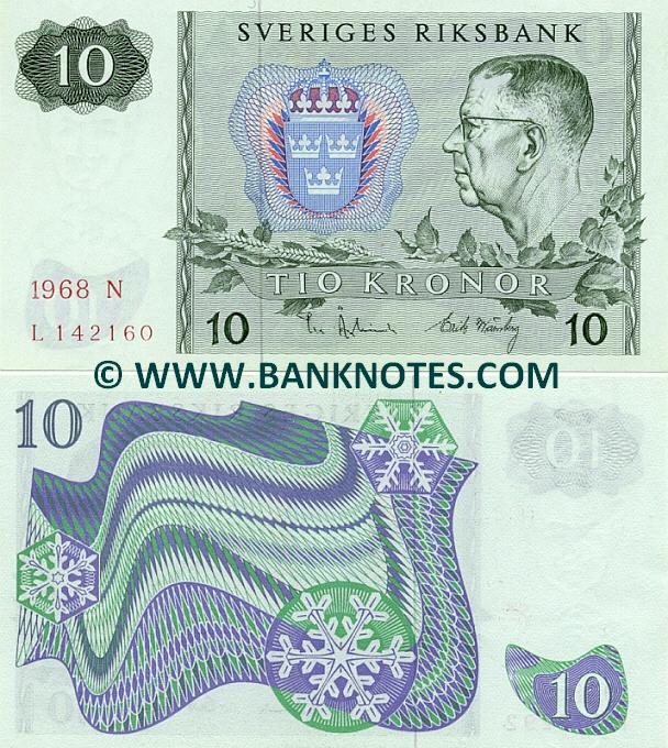 Sweden 10 Kronor 1983 (CK-N789654) (circulated) VF-XF