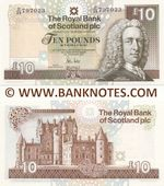 Scotland 10 Pounds 30.11.2010 (D/88 79702x) UNC