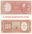 Chile 10 Centesimos on 100 Pesos (1960-61) (J-30-101/913346) UNC