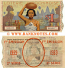 French Indochina 1 Dollar 1939 National Lottery Ticket (369597) VF+