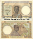 French West Africa 25 Francs 17.8.1943 (Z.3019/722) (circulated) VF-XF