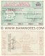 Italy Mini-Cheque 100 Lire 25.10.1976 (La Banca Credito Agrario Bresciano) (102340189) (circulated) VF-XF