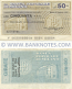 Italy Mini-Cheque 50 Lire 28.3.1977 (Banca Popolare di Milano) (085260163) (circulated) F-VF