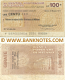 Italy Mini-Cheque 100 Lire 10.5.1977 (Banca Popolare di Milano) (097456646) (circulated) F-VF