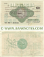 Italy Mini-Cheque 100 Lire 25.10.1976 (Il Banco di Sicilia, Firenze) (BC Nº 1433685) (circulated) VG-F