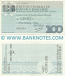 Italy Mini-Cheque 100 Lire 25.6.1977 (Istituto Centrale di Banche e Banchieri) (112181719) (circulated) aVF