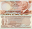 Turkey 20 Lira (1974) (I77/3095xx) UNC