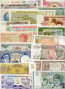 Banknote Country-Set of 50 different countries banknotes UNC