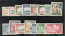 Zanzibar Set of 15 stamps mint hinged