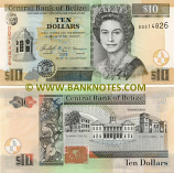 Belize 10 Dollars 2007 (DF2635xx) UNC