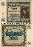 Germany 1000 Mark 2.12.1922 (P-319557-F) AU
