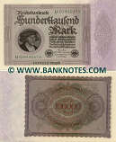 Germany 1000 Mark 1.2.1923 (16H-074996) (circulated) VF-XF