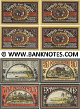 "Germany: Neustadt (Mecklenburg), ""Colonies"" set of 4: 50,50,75,75 Pf. 1922 (L934b) UNC"