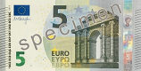 European Union: Portugal 5 Euro 2013 (MA prefix) UNC