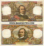 France 100 Francs 7.10.1971 (L.587/1466077152) (circulated) Fine