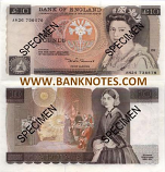 Great Britain 10 Pounds (1975-92) (AX30/544562) UNC-
