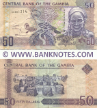 Gambia 50 Dalasis (2018) (A5861314) (circulated) F-VF