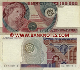 Italy 100000 Lire 1.7.1980 (SA 046270 I) (circulated) VF