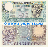 Italy 500 Lire 20.12.1976 (A14/718770) (lt. circulated) XF-AU
