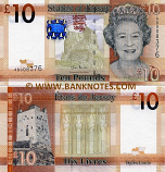 Jersey 10 Pounds (2010) (AD008374) UNC