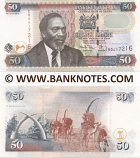 Kenya 50 Shillings 1.4.2006 (CD91139xx) UNC-