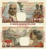 Martinique 100 Francs (1947-49) (X.46/114616482) AU