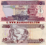 Solomon Islands 10 Dollars (2005) (C/3 6033xx) UNC