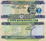 Solomon Islands 50 Dollars (2009) (B/1 500091) UNC