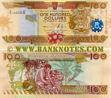 Solomon Islands 100 Dollars (2011) (A/4 105068) UNC