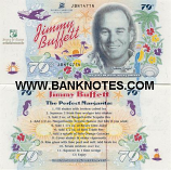 USA: Naples BNC 79 Degrees 2002 (Jimmy Buffett Commemorative) (JBN1471N) UNC