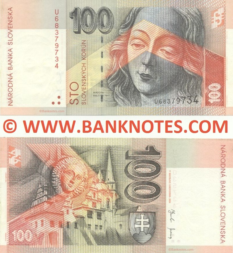 Banknotes Gallery of Slovakia
