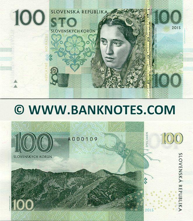 Slovakia Currency Banknote Gallery