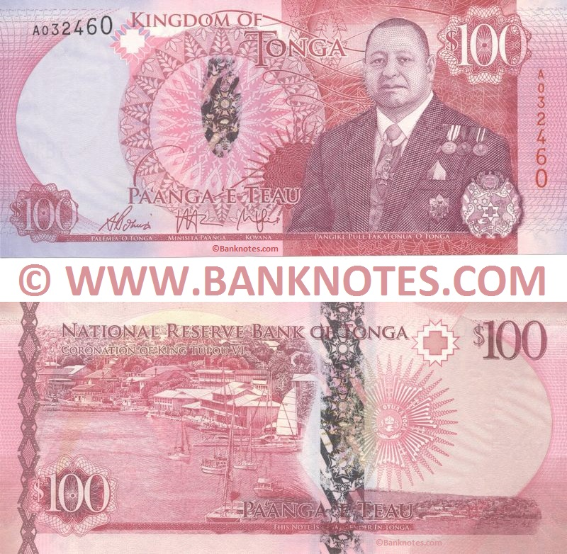 Tongan Currency Gallery