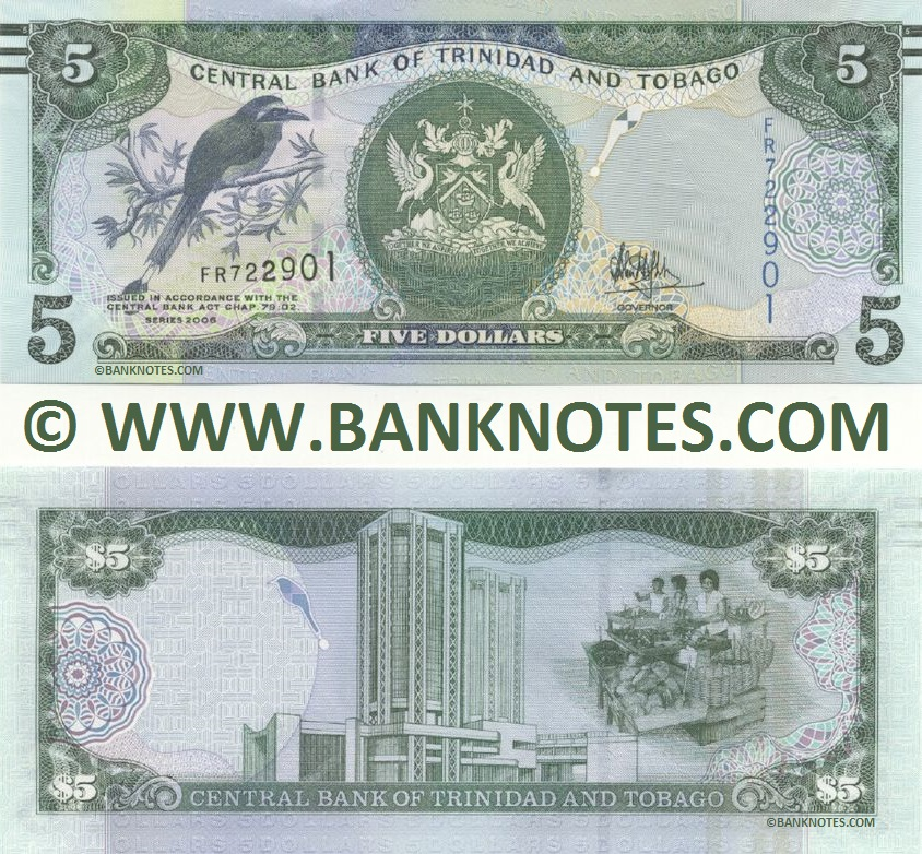 Trinidad & Tobago Currency Gallery