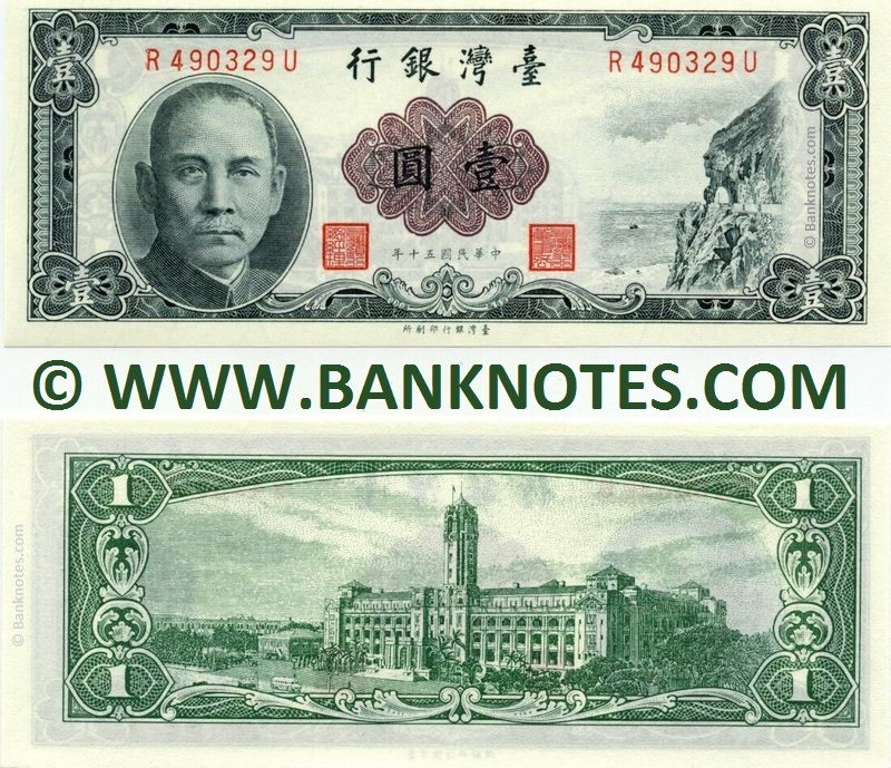 Taiwanese Currency Gallery